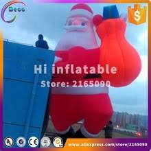 Blow Up Christmas Decorations On Roof by Popular Santa Claus Inflatable Buy Cheap Santa Claus Inflatable