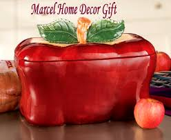 red canisters kitchen decor red apple kitchen decor cookie jar canister canisters apple kitchen