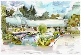new york botanical garden plein air invitational citizen sketcher