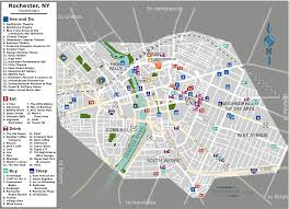 Genesee Valley Mall Map Downtown Rochester Wikipedia