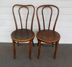 Vintage Bistro Chairs Vintage Antique 2 Bentwood Chairs Bistro