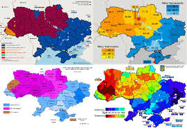 Map Election by Ukraine Ethnic Division Decentralization And Secession