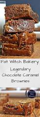 fat witch bakery u0027s legendary chocolate caramel brownies dinner
