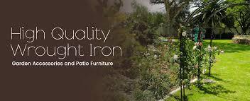 Wrought Iron Garden Decor Welcome To 4 Seasons 4 U 4s4u Wrought Iron Garden Accessories