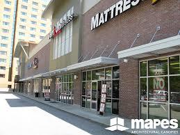 Awnings Atlanta Buckhead Retail Mapes Canopies Aluminum Canopies Metal