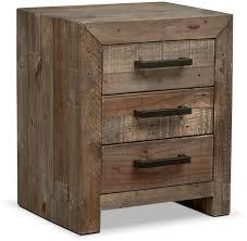 bedroom nightstand rustic wood dresser modern rustic nightstand