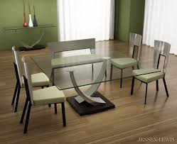 Square Dining Room Tables For 8 Elite Tangent Square Dining Table 342sqr Jensen Lewis New York