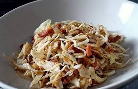 cuisiner du choux blanc salade de chou blanc au vinaigre chaud recette dukan pl par