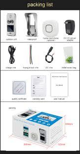 homscam wifi smart visual intercom enabled wifi video doorbell