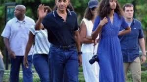 malia ann obama u0026 barack obama vacation family youtube