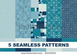 blue pattern background html seamless geometric background set patterns blue stock vector