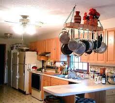 kitchen island pot rack lighting kitchen island pot rack lighting kitchen lighting lowes ceiling