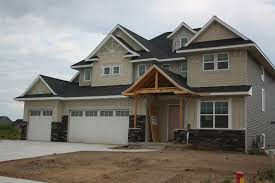 house on tufton the build exterior stone siding and driveway