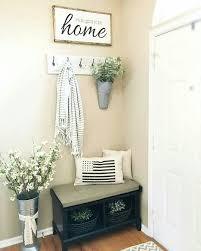 Small Mudroom Bench | corner nook home decor pinterest corner nook corner and foyers