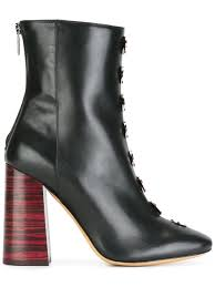 women shoes boots ellery pointed toe boots black wks735 5293