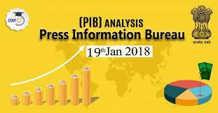 information bureau press information bureau pib analysis free pdf 19th jan