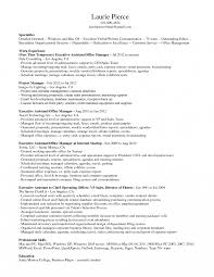 resume templates for executive assistants to ceos history office resume exles awesome dental manager exle download
