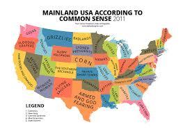 american map usa 31 maps mocking national stereotypes around the world bored panda