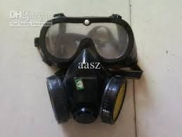 Gas Mask Costume Wholesale Spray Paint Gas Mask Active Carbon Mask With Full Face