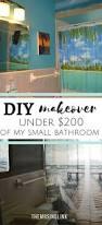 diy small bathroom makeover under 200