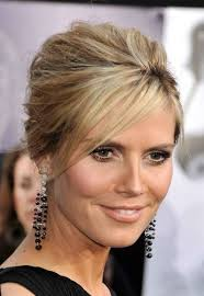 longer hairstyles with bangs for women over 4 15 hot heidi klum hairstyles sexy hair at any age page 1 of 2