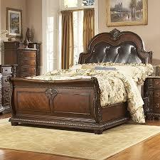 California King Sleigh Bed Shop Homelegance Palace Rich Brown California King Sleigh Bed At
