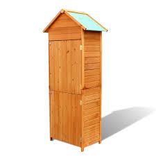 outdoor storage cabinet waterproof tall garden storage cabinet waterproof wooden tool shed outdoor
