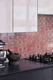 celebrating british ceramic tiles in interiors bay gallery home our award winning bush onion 1 ceramic wall tile as a kitchen splash back