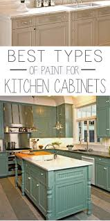 Kitchens With Green Cabinets by Best 25 Paint For Kitchen Cabinets Ideas On Pinterest Painting
