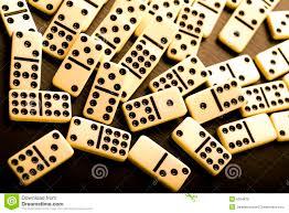 domino domino stock photo image of piece spots entertainment 6304876