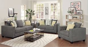Fabric Chairs Living Room Top Grey Furniture Living Room Coaster Furniture Kelvington