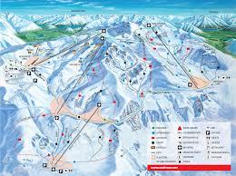 Alps Mountains Map Trail Map Mountain Cardrona Alpine Resort