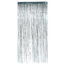 Silver Foil Curtains Metallic Silver Foil Curtain Silver Supplies Discount