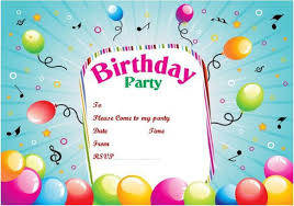 birthday invitation templates birthday invitation birthday party invitation templates