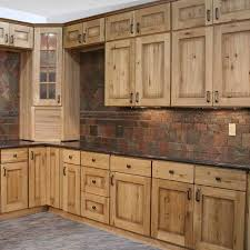 Wood Kitchen Furniture Rustic Wood Cabinets Office Table