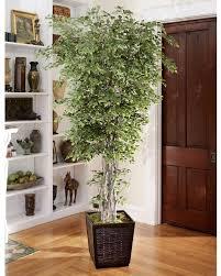 artificial trees for home decor interior lighting design ideas