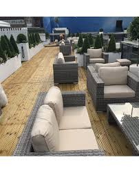 B Q Rattan Garden Furniture How To Throw A White Out Party Rattan Garden Set Rattan Dining