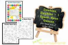 doubles fact doubles doubles 1 timed tests the curriculum corner 123