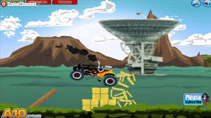 monster truck videos please motor beast monster truck race for children browser flash