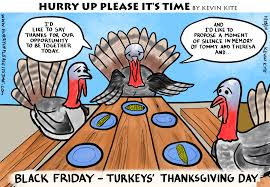 turkeys thanksgiving hurry up it s time comic