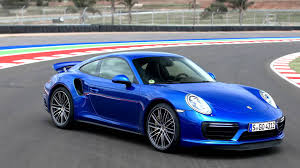 turbo porsche 911 2016 porsche 911 turbo sapphire blue metallic youtube