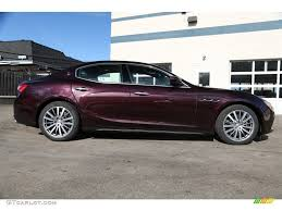 maserati ghibli red rosso folgore dark red 2015 maserati ghibli s q4 exterior photo