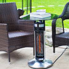 Led Bistro Table Ener G Hea 14756led Indoor Outdoor Bistro Table Infrared Heater