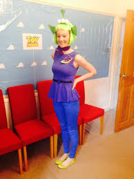 halloween costumes jessie toy story toystory alien costume hand made headband and top storybook
