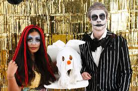 how to diy an easy nightmare before christmas couple u0027s costume
