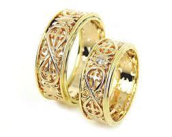 wedding ring gold unique wedding band etsy