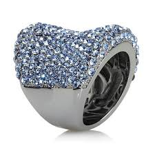 crystal pave rings images Joan boyce quot must have quot pav crystal ring 6220462 hsn jpg