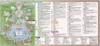 Disney World Orlando Park Map by 2015 Epcot International Food And Wine Festival Park Map