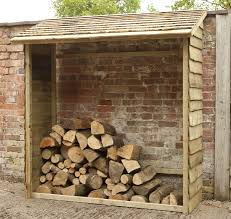 wood store west bs wall log store assembled