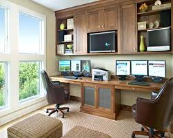 Home Office Built In Furniture Office Ideas Extraordinary Built In Home Office Pictures Built